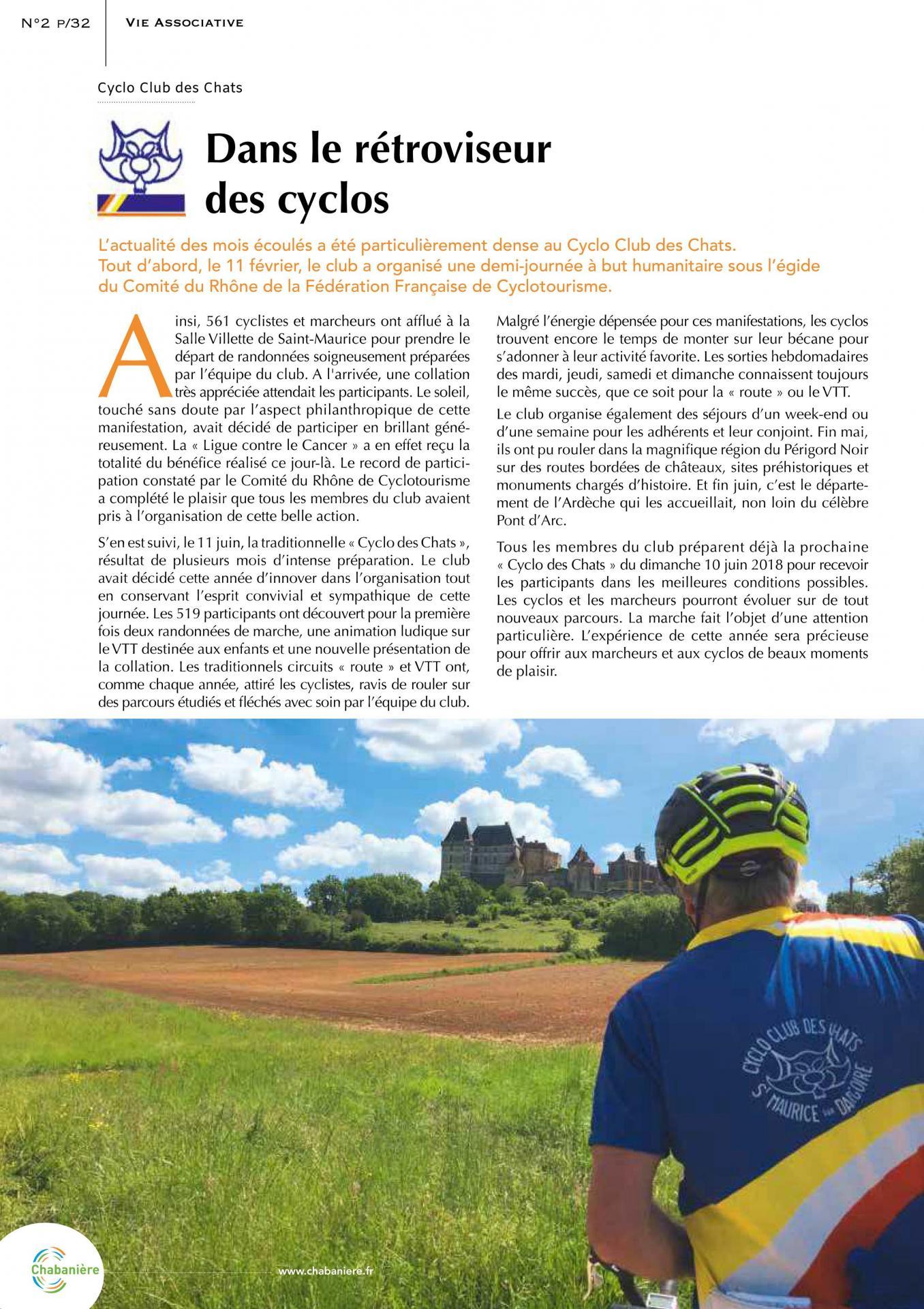 Magazine de chabaniere page 12 octobre 2017
